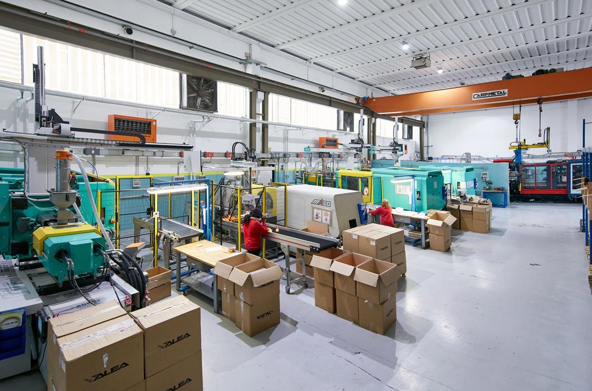 parco macchine stampa materie plastiche ALEA